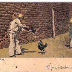 Postales: TARJETA POSTAL. MEXICO. PELEA DE GALLOS. Nº 7966. J. G. HATTON.. Lote 26814282