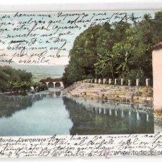 Postales: TARJETA POSTAL. MEXICO. CUERNAVACA. JARDIN DE BORDA. Nº 719. J. GRANAT.. Lote 26814902