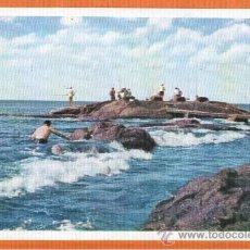 Postales: ATLANTIDA - URUGUAY - EL PESQUERO - ED. IMPRESORA URUGUAYA Nº 132. Lote 27394452