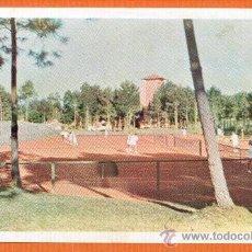 Postales: PUNTA DEL ESTE - CANCHAS DE TENNIS EN EL COUNTRY CLUB - ED. IMPRESORA URUGUAYA . Lote 27394503