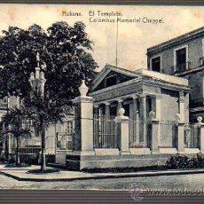 Postales: POSTAL DE LA HABANA- EL TEMPLE COLUMBUS MEMORIAL CHAPPEL. Lote 27762850