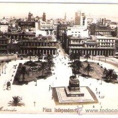 Postales: TARJETA POSTAL. URUGUAY. MONTEVIDEO, PLAZA INDEPENDENCIA.. Lote 27749099