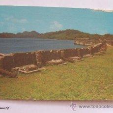 Postales: PORTOBELO, REPUBLICA DE PANAMA. CASTILLO SAN JERONIMO.. Lote 27989634