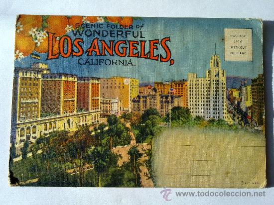 postal los angeles california 18 vistas - Comprar Postales antiguas de  América en todocoleccion - 28049856