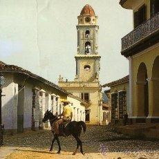 Postales: TRINIDAD TORRE DE SAN FRANCISCO ESCRITA CIRCULADA SELLO. Lote 28430958