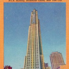 Postales: 2062-POSTAL NEW YORK-ROCKEFELLER CENTER. Lote 28531295