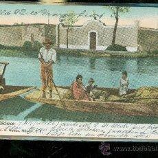 Postales: TARJETA POSTAL COSTUMBRISTA. MEXICO. HATTON. LA VIGA CANAL. 4. VER DORSO. . Lote 68589213