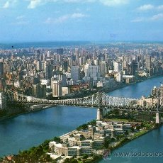 Postales: NEW YORK CITY EASTSIDE SYLINE ESCRITA CIRCULADA SELLO. Lote 28826191