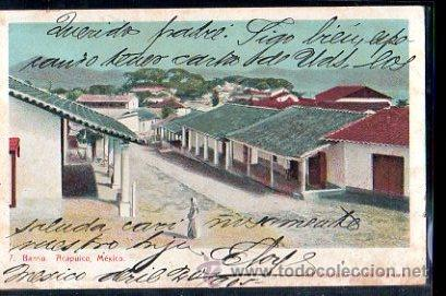 TARJETA POSTAL DE MEXICO. BARRIO DE ACAPULCO (Postales - Postales Extranjero - América)