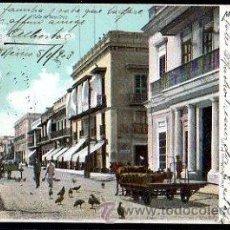 Postales: TARJETA POSTAL DE MEXICO. CALLE DE VERA CRUZ. Lote 68589327