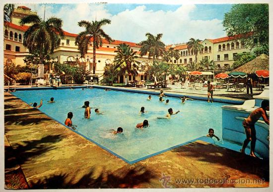 COLOMBIA. BARRANQUILLA. HOTEL DEL PRADO INTER-CONTINENTAL. JARDINES TROPICALES. (Postales - Postales Extranjero - América)