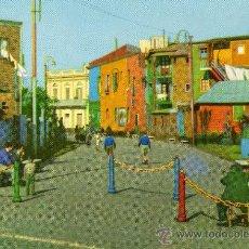 Postales: BUENOS AIRES BARRIO DE LA BOCA LA CALLE CAMINITO ED. BELLAS VISTAS NUEVA SIN CIRCULAR . Lote 29081143