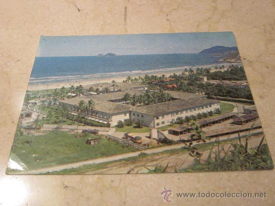 POSTAL CASA GRANDE HOTEL PRAIA DA ENSENADA GUARUJA BRASIL (Postales - Postales Extranjero - América)