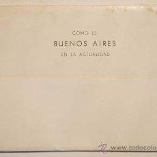 Postales: ARGENTINA. BUENOS AIRES. ACORDEON CON 10 POSTALES BLANCO Y NEGRO. REPUBLICA ARGENTINA.. Lote 29550108