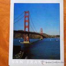 Postales: SAN FRANCISCO , GOLDEN GATE BRIDGE. Lote 29685358