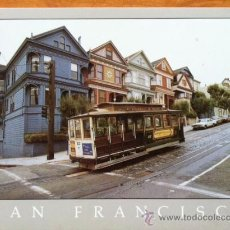 Postales: SAN FRANCISCO . THE CABLE CAR . Lote 29685374