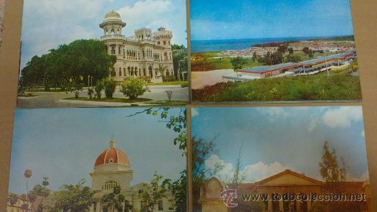 Postales: &CUBA-EMITIDO (ANIVERSARIO DEL ALZAMIENTO)CARTERITA-12DISTINTAS./CIENFUEGOS/AÑOS;70 - Foto 3 - 29920439
