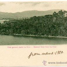 Postales: CUBA, 1909, VISTA GENERAL DESDE LA CRUZ, ESCRITA. Lote 99369020