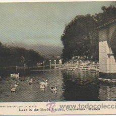 Postales: MEXICO. LAGO. JARDIN BORDA. CUERNAVACA. LAKE.. Lote 30268474