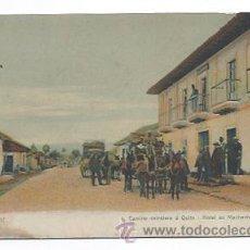 Postales: ECUADOR. CAMINO CARRETERO A QUITO. HOTEL EN MACHACHI. . Lote 30386232