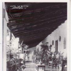Postales: HOTEL LA QUINTA. JOCOTEPEC. NO CIRCULADA.. Lote 30409114