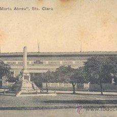 Postales: RRR POSTAL DE LA ESTACION CENTRAL DE FERROCARRILES MARTA ABREU - SANTA CLARA - CUBA. Lote 30534335