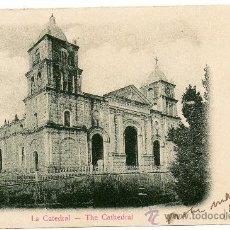 Postales: CUBA, LA CATEDRAL, NO DIVIDIDA, ESCRITA. Lote 99368962