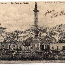 Postales: CUBA,PLAZA DE LA LIBERTAD, SANTIAGO DE CUBA, NO DIVIDIDA.EDIT.RAVELO. Lote 30674975