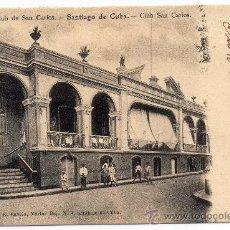 Postales: CUBA, CLUB SAN CARLOS, SANTIAGO DE CUBA, EDIT.RAVELO, NO DIVIDIDA. Lote 30675017