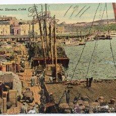 Postales: CUBA,1911,ESCENAS DEL PUERTO HABANA,EDIT,HARRIS BROS CO. MAGNIFICA. Lote 30685829