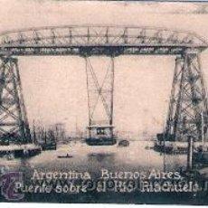 Cartes Postales: POSTAL ORIGINAL DECADA DE LOS 30. ARGENTINA, BUENOS AIRES. Nº 2015. VER TAMAÑO Y EXPLICACION. Lote 30693062