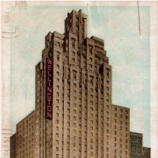Postales: POSTAL HOTEL WELLINGTON.AÑOS 40. Lote 30706316