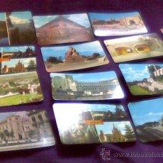Postales: MEXICO. LOTE DE 14 POSTALES EN COLOR. VISTA COLOR. LITOGRAFICA TURMEX.. Lote 30717966