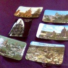 Postales: MEXICO. SAN MIGUEL ALLENDE. LOTE DE 6 POSTALES EN COLOR. TODAS DIFERENTES. MUY BONITAS.. Lote 30718003