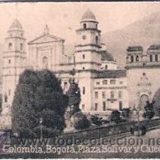 Postales: POSTAL ORIGINAL DECADA DE LOS 30. COLOMBIA, BOGOTA. Nº 1770. VER TAMAÑO Y EXPLICACION. Lote 30800211