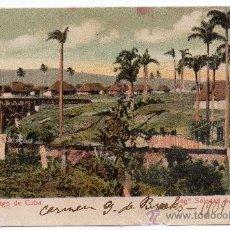 Postales: CUBA, SANTIAGO DE CUBA, 1909, INGº SOLEDAD ACUEDUCTO. Lote 30796688
