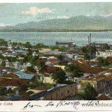 Postales: CUBA, SANTIAGO DE CUBA, 1910, VISTA PARCIAL. Lote 30796732