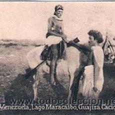 Postales: POSTAL ORIGINAL DECADA DE LOS 30. R. VENEZUELA, LAGO MARACAIBO. Nº 1850. VER TAMAÑO Y EXPLICACION. Lote 30805213