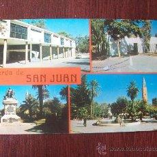 Postales: RECUERDO DE SAN JUAN, EL CASINO, CASA DE SARMIENTO, VISTAS DE LA PLAZA. ARGENTINA.. Lote 30810976