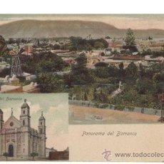 Postales: POSTAL ANTIGUA DE LIMA, PERÚ. IGLESIA DEL BARRANCO Y PANORAMA DEL BARRANCO.. Lote 30893994