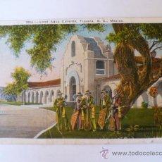 Postales: ANTIGUA POSTAL; HOTEL AGUA CALIENTE, TIJUANA, MEXICO, AÑO 1931 CIRCULADA. Lote 31014750