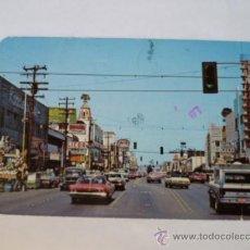 Postales: BONITA POSTAL; AVE. REVOLUCION, UNA IMPORTANTE ZONA TURISTICA,TIJUANA MEXICO AÑO 1986 CIRCULADA. . Lote 31016622