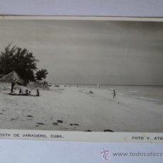 Postales: BONITA POSTAL; VISTA DE VARADERO, CUBA., MEXICO, AÑOS 60. . Lote 31018771