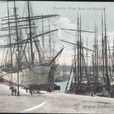 Postales: BUENOS AIRES (ARGENTINA).- BOCA DEL RIACHUELO. Lote 31078731