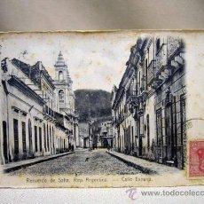 Postales: POSTAL TARJETA POSTAL, SALTA, ARGENTINA, CALLE ESPAÑA, R. ROSAUER, Nº 359. Lote 31107456