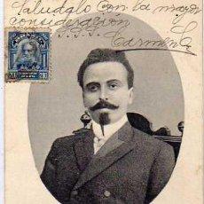 Postales: POSTAL DEL DR NILO PECANHA. ESCRITA. SIN CIRCULAR. BRASIL.. Lote 31320963