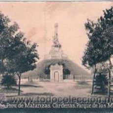 Postales: POSTAL ORIGINAL DECADA DE LOS 30. CUBA, MATANZAS. Nº 1508. VER TAMAÑO Y EXPLICACION. Lote 31388569