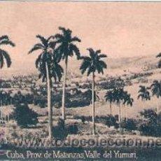Postales: POSTAL ORIGINAL DECADA DE LOS 30. CUBA, MATANZAS. Nº 1509. VER TAMAÑO Y EXPLICACION. Lote 31388579