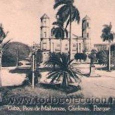 Postales: POSTAL ORIGINAL DECADA DE LOS 30. CUBA, MATANZAS. Nº 1510. VER TAMAÑO Y EXPLICACION. Lote 31388588