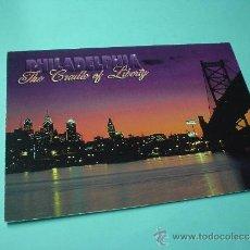 Postales: POSTAL NOCTURNA DE PHILADELPHIA. FOTO. JIM MCWILLIAMS 1996. Lote 31561327